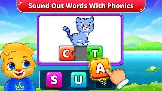 Spelling; Phonics: Kids Words Games